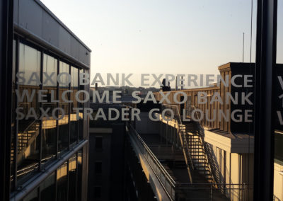 Inauguration Saxo Bank
