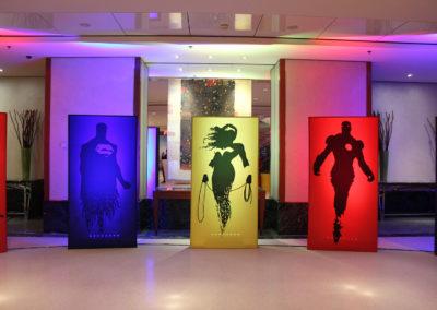Super_HÇros_Theme_Decoration_Luxury_Silhouettes