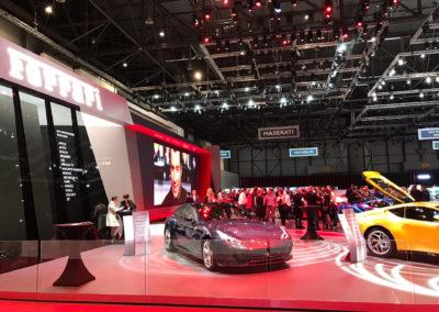 Ferrari au Salon de l'Automobile