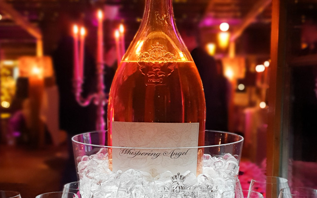 Cocktail Whispering Angel Château des Clans