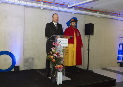 Inauguration Parking de Chêne-Bourg