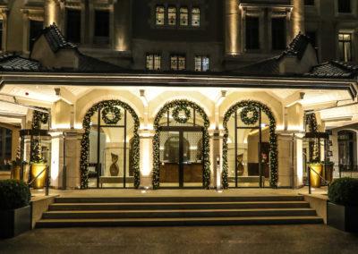 Noël à l'Hôtel Royal Savoy