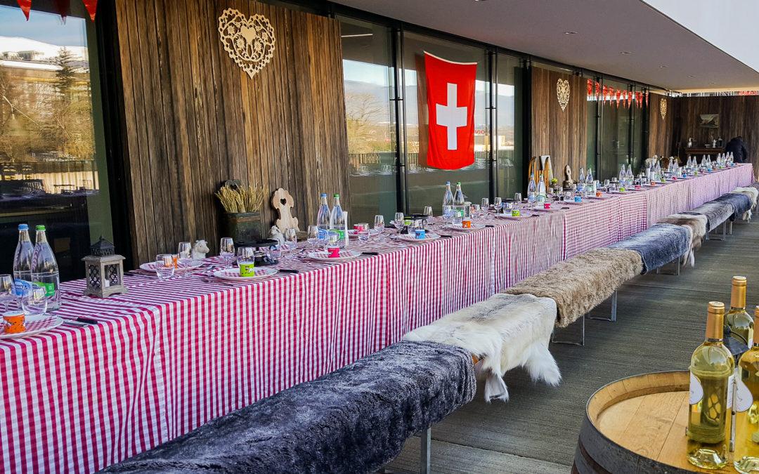 Lunch suisse au Campus Richemont